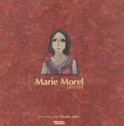 Marie Morel Peintre - Couverture - Format classique