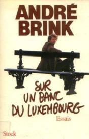 Sur Banc Luxembourg - Couverture - Format classique