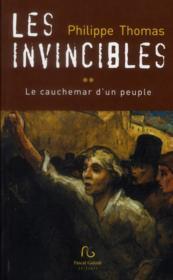 Les invincibles t.2 ; le cauchemar d'un peuple - Couverture - Format classique