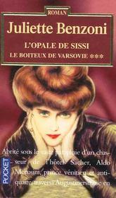 Le boiteux de varsovie - tome 3 l'opale de sissi - Intérieur - Format classique