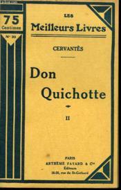 Don Quichotte. Tome 2. Collection : Les Meilleurs Livres N° 30. - Couverture - Format classique