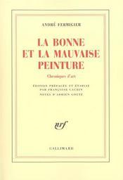 La Bonne Et La Mauvaise Peinture - Intérieur - Format classique