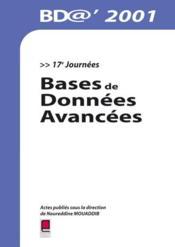 Bases de donnees avancees - Couverture - Format classique
