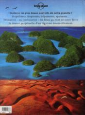 Planète terre - 4ème de couverture - Format classique