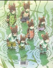 La famille Souris et la mare aux libellules - 4ème de couverture - Format classique