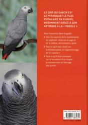 Perroquet gris du Gabon - 4ème de couverture - Format classique