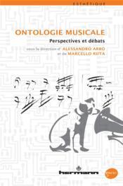 Ontologie musicale - Couverture - Format classique