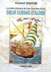 Sieur Durand d'Alger - Couverture - Format classique