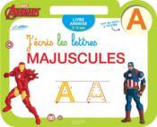 Ardoise Avengers ; j'écris les lettres majuscules - Couverture - Format classique