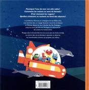 Astro cat : les fonds marins - 4ème de couverture - Format classique