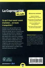 Copropriété poche pour les nuls (2e édition) - 4ème de couverture - Format classique