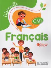 Francais cm1 citronnelle eleve - Couverture - Format classique