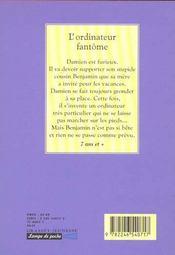 L'ordinateur fantome - 4ème de couverture - Format classique