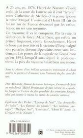 Henry Iv T.2 Ralliez Vous A Mon Panache - 4ème de couverture - Format classique