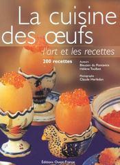 La cuisine des ufs, l'art et les recettes - Intérieur - Format classique