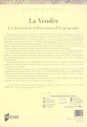 Vendee - 4ème de couverture - Format classique
