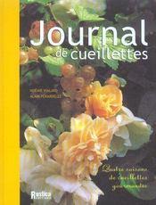 Journal De Cueillettes - Intérieur - Format classique