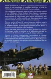 La Bretagne dans la bataille de l'Atlantique - 4ème de couverture - Format classique