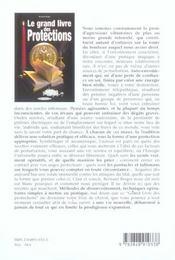 Grand Livre Des Protections (Le) - 4ème de couverture - Format classique