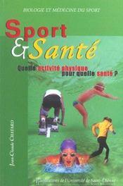 Sport Et Sante - Intérieur - Format classique