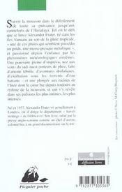A La Poursuite De La Mousson - 4ème de couverture - Format classique