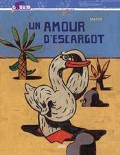 Un amour d'escargot - Couverture - Format classique