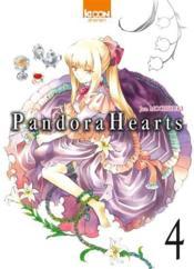 Pandora hearts t.4 - Couverture - Format classique