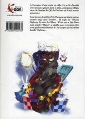 Pandora hearts t.4 - 4ème de couverture - Format classique