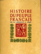 Histoire Du Peuple Francais En 4 Tomes. - Couverture - Format classique