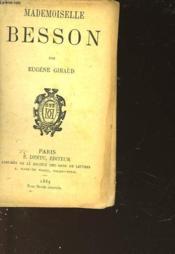 Mademoiselle Besson - Couverture - Format classique