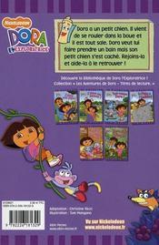 Le petit chien de Dora - 4ème de couverture - Format classique