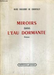 Miroirs Dans L'Eau Dormante - Poemes. - Couverture - Format classique