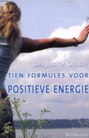 Tien Formules Voor Positieve Energie - Couverture - Format classique