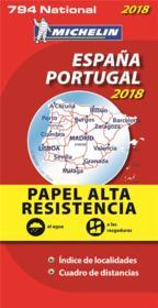 España, Portugal (édition 2018) - Couverture - Format classique