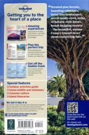 Canary islands (7e édition) - 4ème de couverture - Format classique