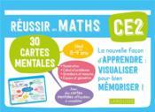 Réussir en maths ; CE2 ; 30 cartes mentales - Couverture - Format classique
