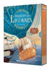 Le maître des licornes ; coffret trilogie ; tomes 4 à 6 - Couverture - Format classique