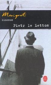 Maigret - pietr le letton - Intérieur - Format classique