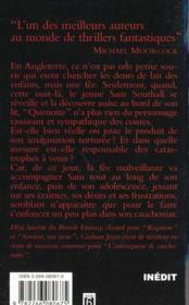 Intercepteur De Cauchemars - 4ème de couverture - Format classique