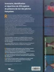 Les poissons de mer des peches francaises (2e édition) - 4ème de couverture - Format classique
