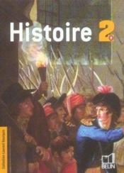 Histoire ; 2nde ; livre de l'élève (édition 2006) - Couverture - Format classique