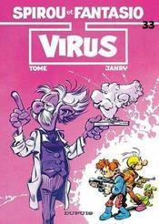 Les aventures de Spirou et Fantasio T.33 ; virus - Intérieur - Format classique