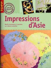 Impressions d'Asie - Intérieur - Format classique