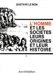 L'homme et les societes - Couverture - Format classique