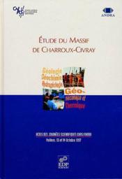 Etude du massif de charroux-civray - Couverture - Format classique