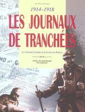 Journaux des tranchees (les) (3e édition) - Intérieur - Format classique