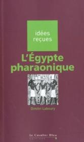 L'Egypte pharaonique - Couverture - Format classique