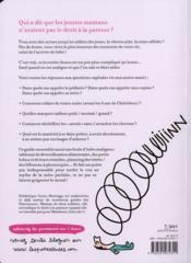 Le cahier jeune maman des paresseuses - 4ème de couverture - Format classique