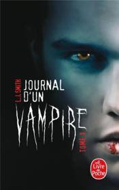 Journal d'un vampire t.1 - Couverture - Format classique