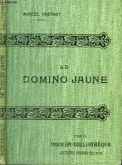 Le Domino Jaune. - Couverture - Format classique
